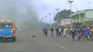 """Ne Muanda Nsemi avait menacé dans des vidéos circulant sur les réseaux sociaux de vouloir """" frapper """" appellant au départ du chef de l'Etat."""