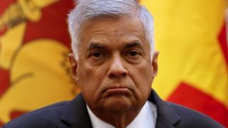 File image of Sri Lanka Prime Minister Ranil Wickremesinghe from April 17, 2017