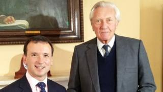 Alun Cairns and Lord Heseltine