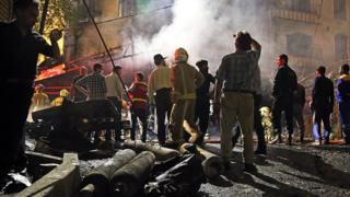 تحقیقات برای یافتن علت آتش سوزی و انفجار در کلینیک سینا اطهر در جریان است