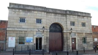 Gloucester Prison gate