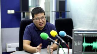 """Турдин Усеев, Кыргыз-Түрк """"Манас"""" университетинин окутуучусу,"""