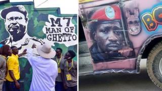 Museveni ubu nawe ari kwitwa 'umugabo wa ghetto', Bobi Wine asanzwe azwi nka 'perezida wa ghetto'