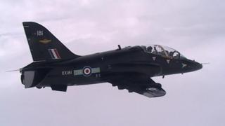 Hawk RAF jet