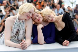 Gwendoline Christie, Nicole Kidman y Elisabeth Moss