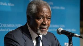 Le décès de Kofi Annan a suscité les réactions de nombreux dirigeants dans le monde.