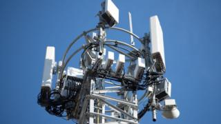 Technology 5G mast