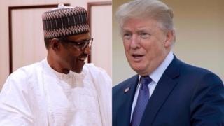 Buhari na Trump
