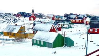 Столица Гренландии Нуук