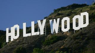 Image shows Hollywood sign