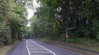A4 near Savernake Hospital
