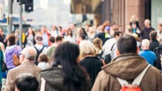 Pedestrians in Edinburgh