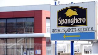 File picture of the Spanghero plant in Castelnaudary, south-eastern France (February 2013)