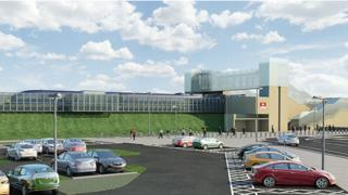 Thanet Parkway station - artist's impression