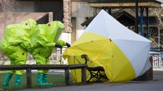 Salisbury contamination suits