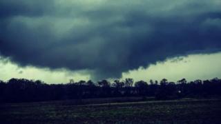 Un tornado en Alabama