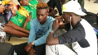 Umunonotsi wo mu Burundi Francine Niyonsaba