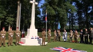 Rededication ceremony in Arnhem