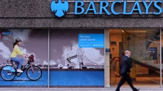 A Barclays Bank branch