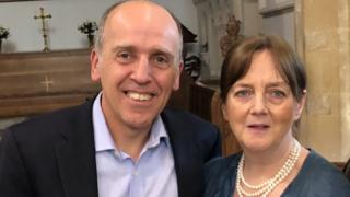 Dr David Donovan and Shirley Donovan