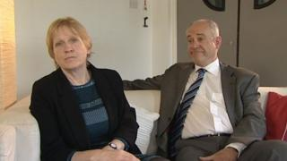 Sue Hills and Clive Ruggles