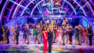 The dancers and presenters of Strictly Come Dancing 2016
