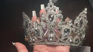 in_pictures One of Ariana's tiaras