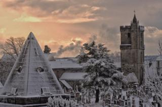Sunrise in Stirling