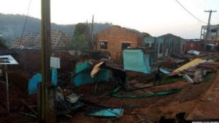 Di village wey dem attack