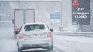 Многие дороги закрыты для движения
