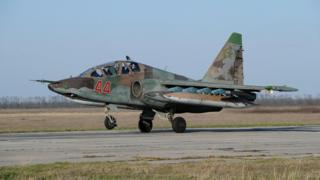 Су-25 после возвращения из Сирии