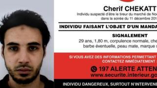Police notice for Chérif Chekatt