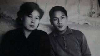 รี ยอง ฮุย และฟาม ง็อก คาน เมื่อครั้งยังแรกรุ่น