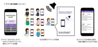 Press handout illustration of the image showing what it looks like on a phone