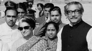 इंदिरा गांधी, शेख मुजीबुर रहमान