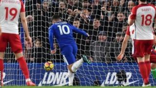 Eden Hazzard na Chelsea