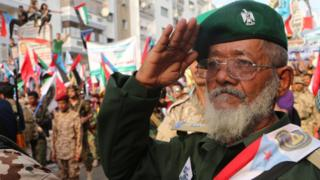 أنصار الانفصاليين يحتشدون في مدينة عدن