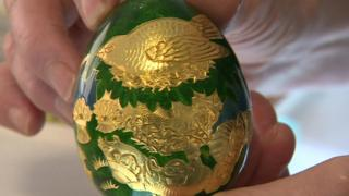 Cadbury's gold egg