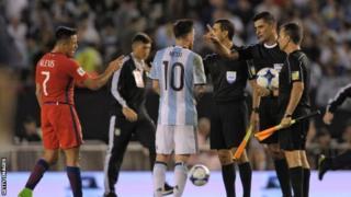 Messi yashavujwe nuko bavuze ko yagize ikosa mu gukina