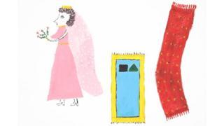 نقاشی زنان پناهجو