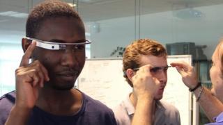 Ansoumane Keita est accro aux nouvelles technologies