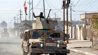 القوات العراقية تتقدم في عدة أحياء شرقي الموصل وفي الجنوب الشرقي للمدينة