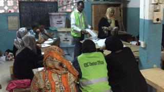 Iharurwa ry'amajwi i Mombasa
