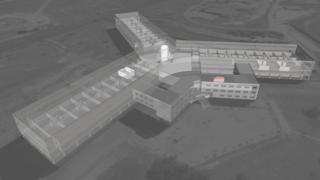 план здания тюрьмы