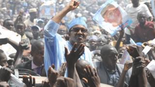 Buhari nibi ipolongo ibo