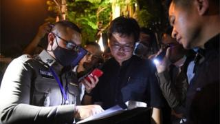 Police detain Anon Nampa