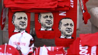 Сувениры с изображением Эрдогана