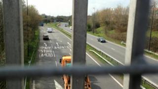 Bridge over the A4174, Bristol