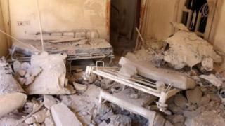 بمباران بیمارستانها در سوریه