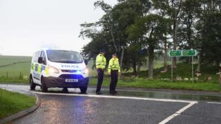 A85 accident
